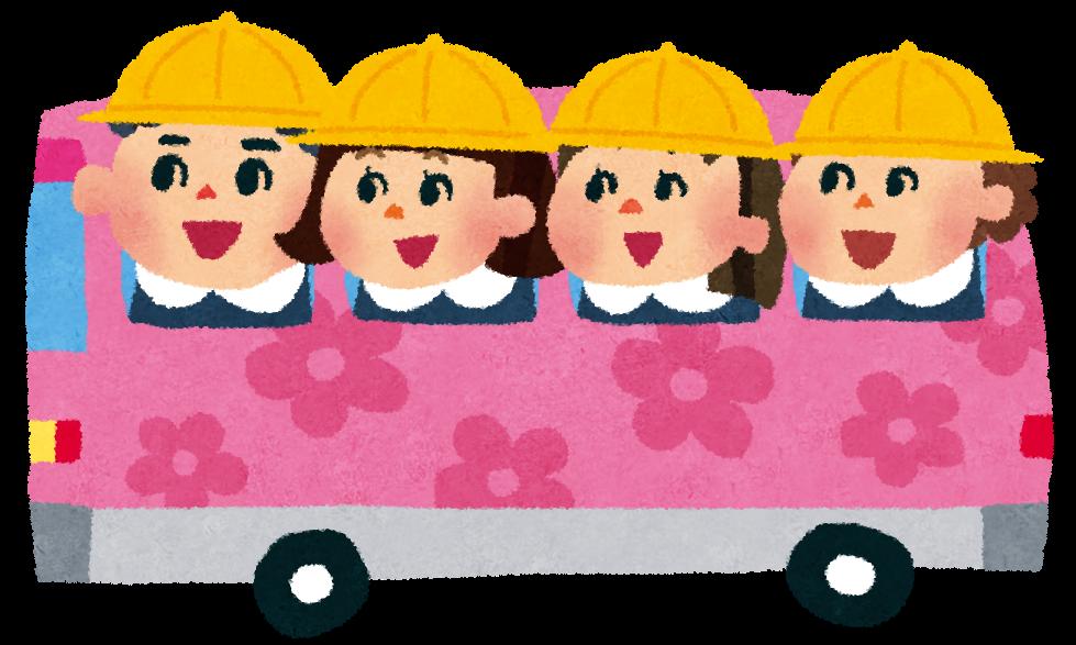 幼稚園バスの例の絵
