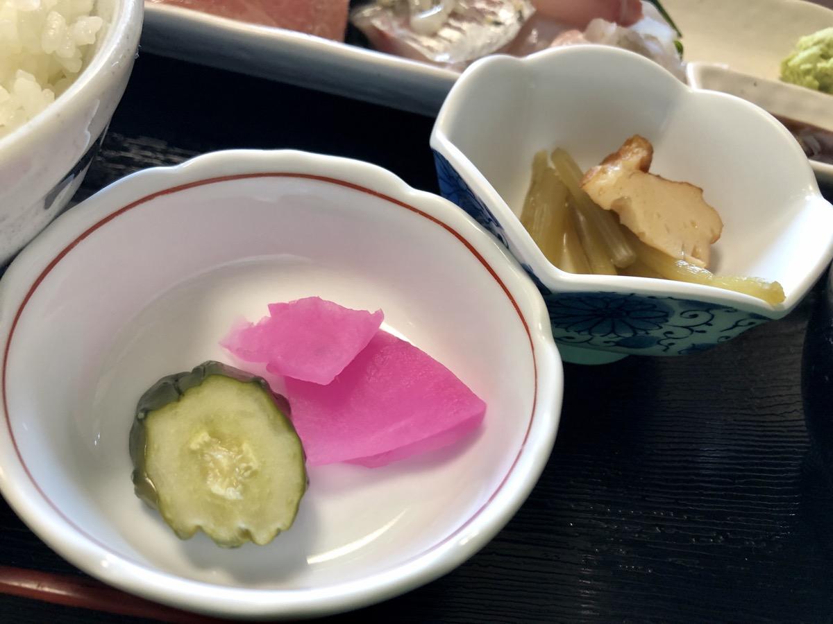 横浜、清元ランチ。刺身